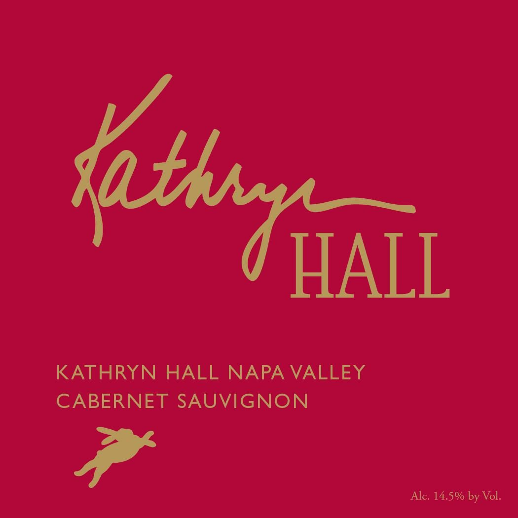 Hall Kathryn Hall Cabernet Sauvignon (375ML half-bottle) 2016  Front Label
