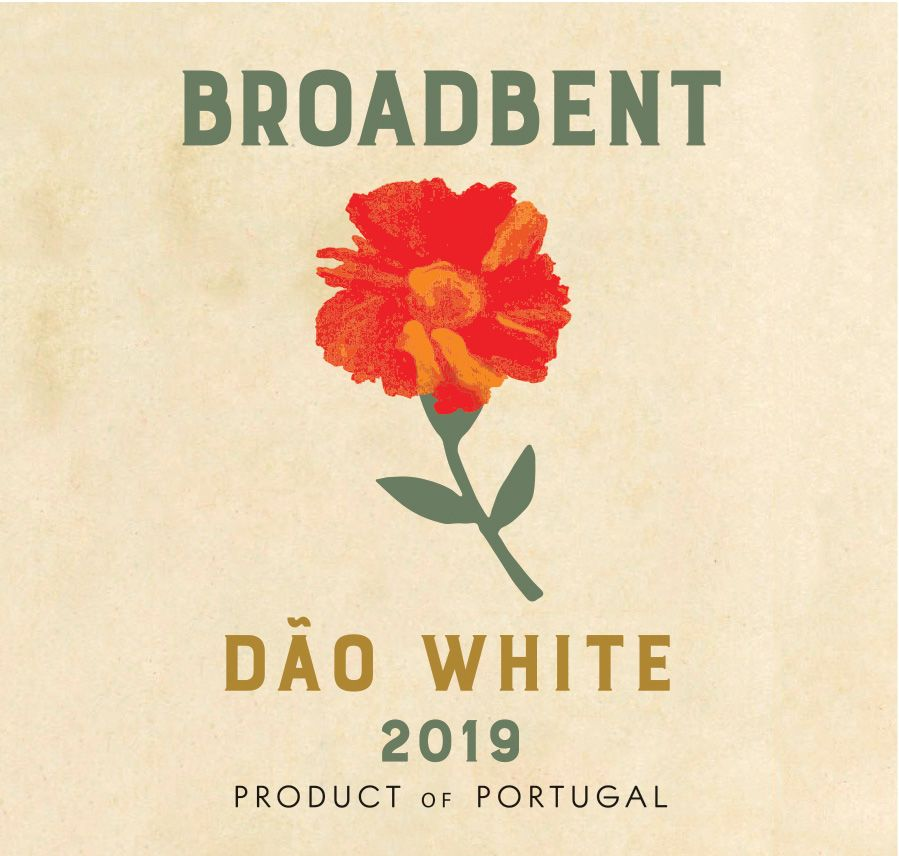 Broadbent Dao White 2019  Front Label