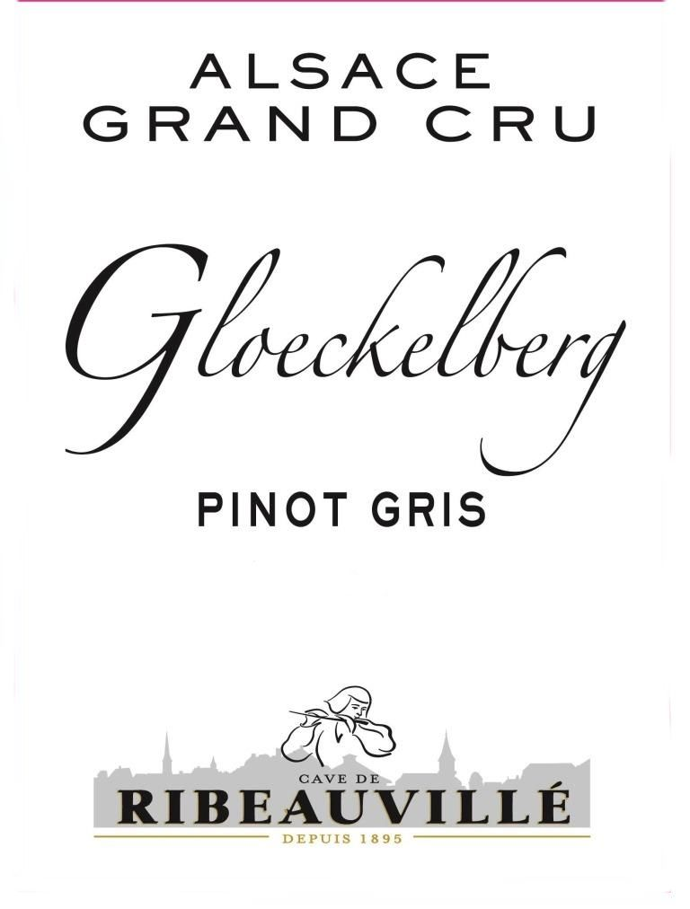 Cave de Ribeauville Pinot Gris Gloeckelberg Grand Cru 2012  Front Label