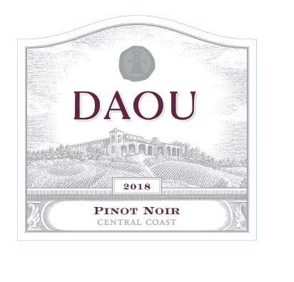 DAOU Vineyards Pinot Noir 2018  Front Label