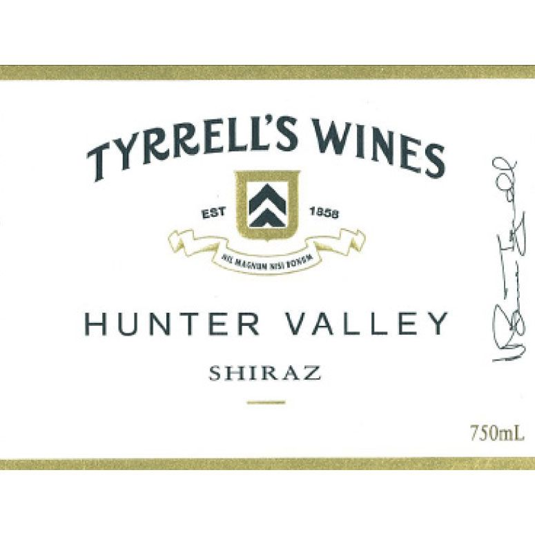 Tyrrell's Hunter Valley Shiraz 2017  Front Label