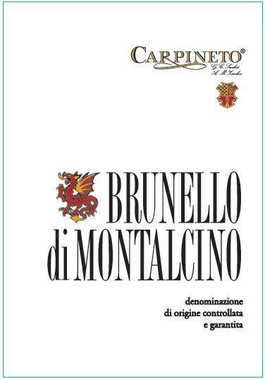 Carpineto Brunello di Montalcino 2014  Front Label