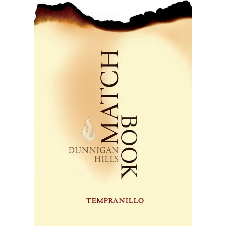 Matchbook Tempranillo 2014  Front Label