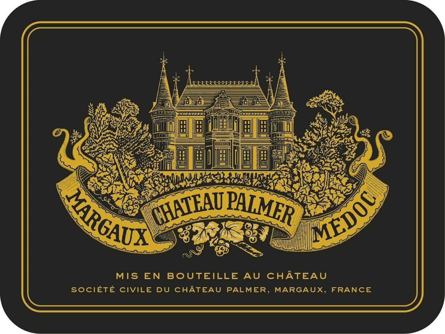Chateau Palmer (6-Pack OWC Futures Pre-Sale) 2019  Front Label