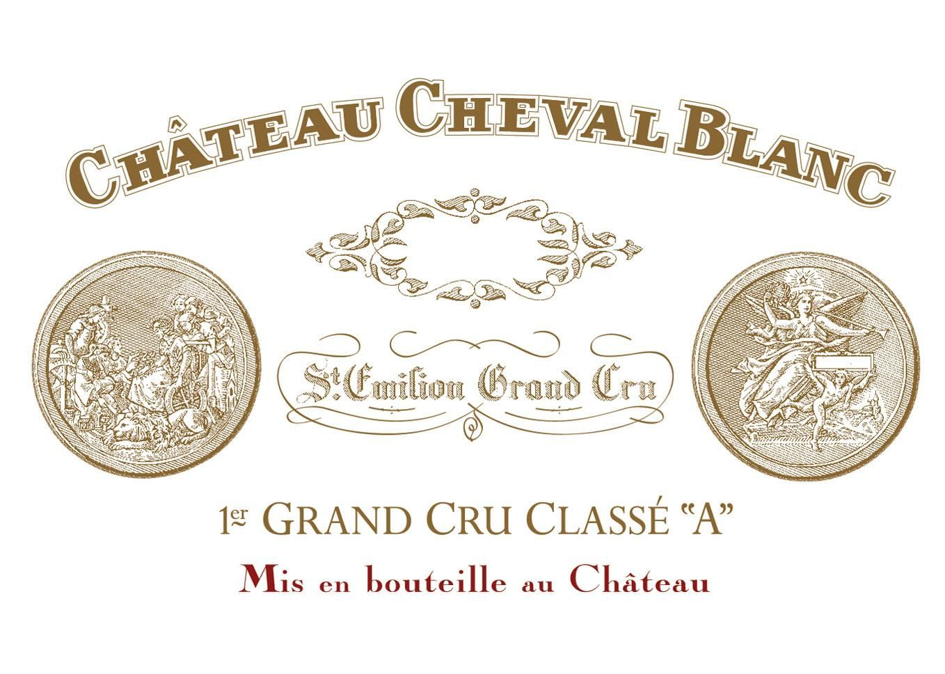 Chateau Cheval Blanc (Futures Pre-Sale) 2018  Front Label