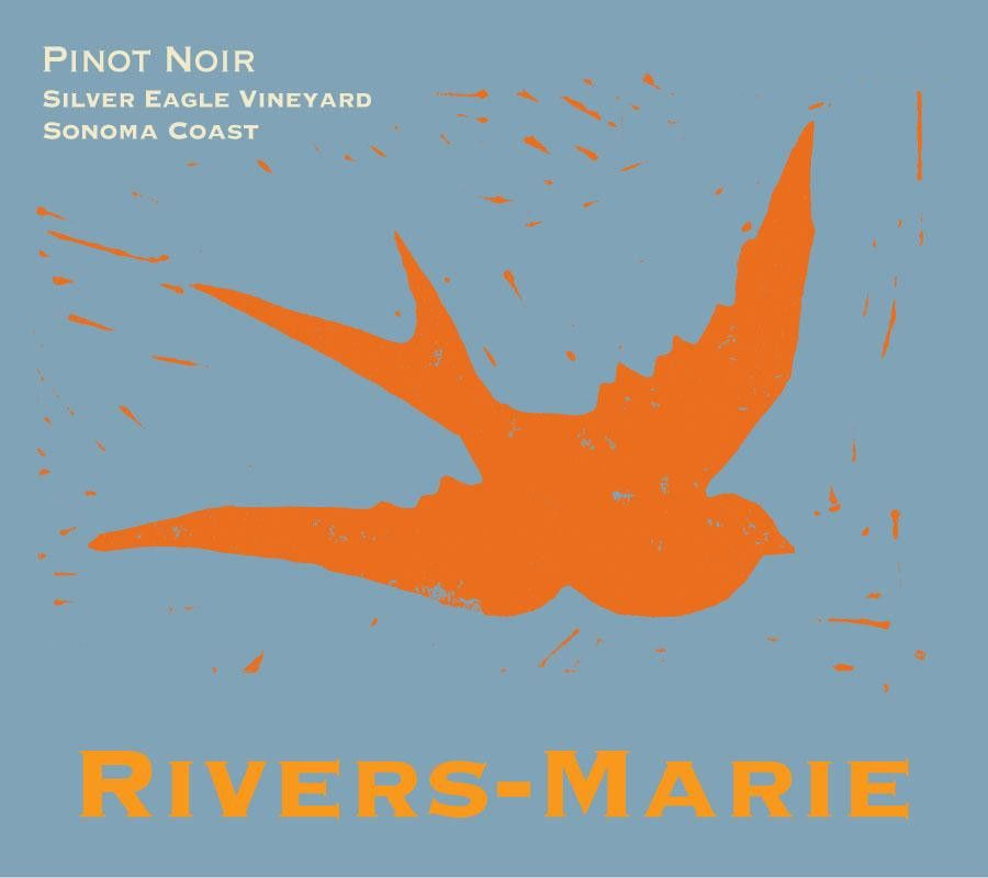 Rivers-Marie Silver Eagle Vineyard Pinot Noir 2015 Front Label