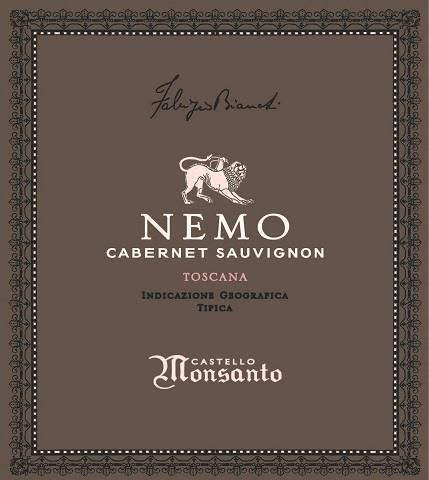 Castello di Monsanto Nemo 2013  Front Label