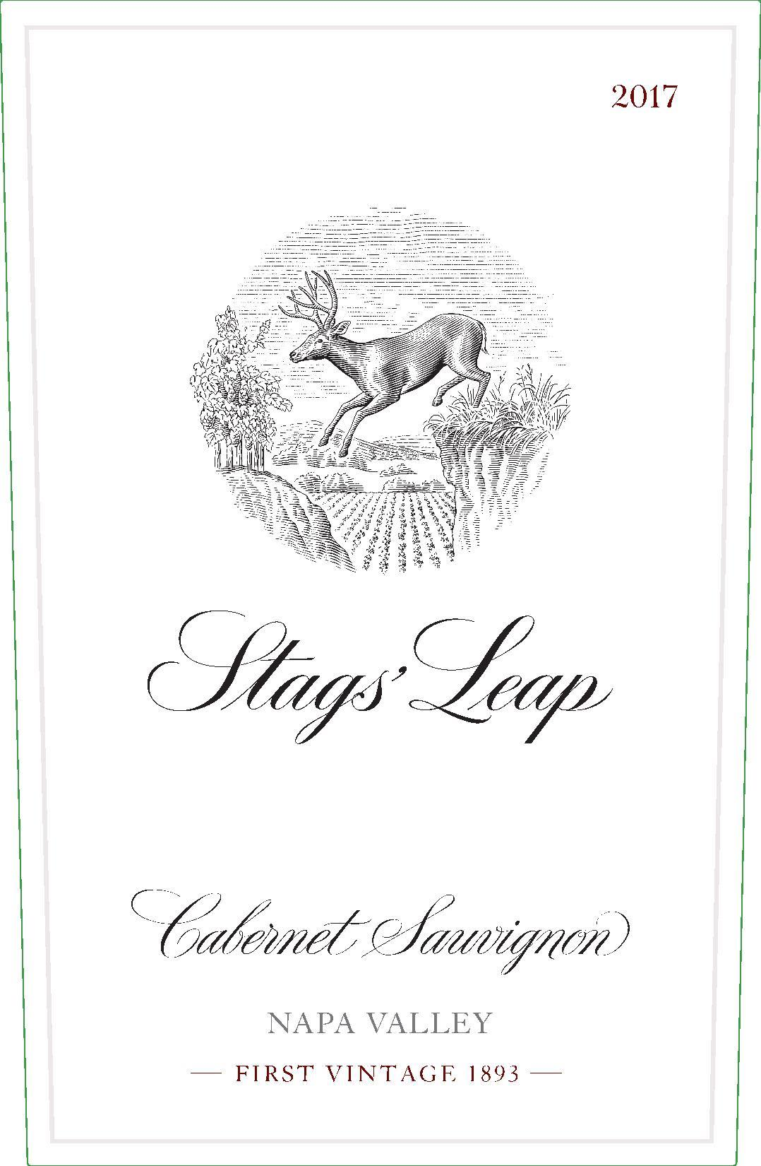 Stags' Leap Winery Napa Valley Cabernet Sauvignon 2017  Front Label