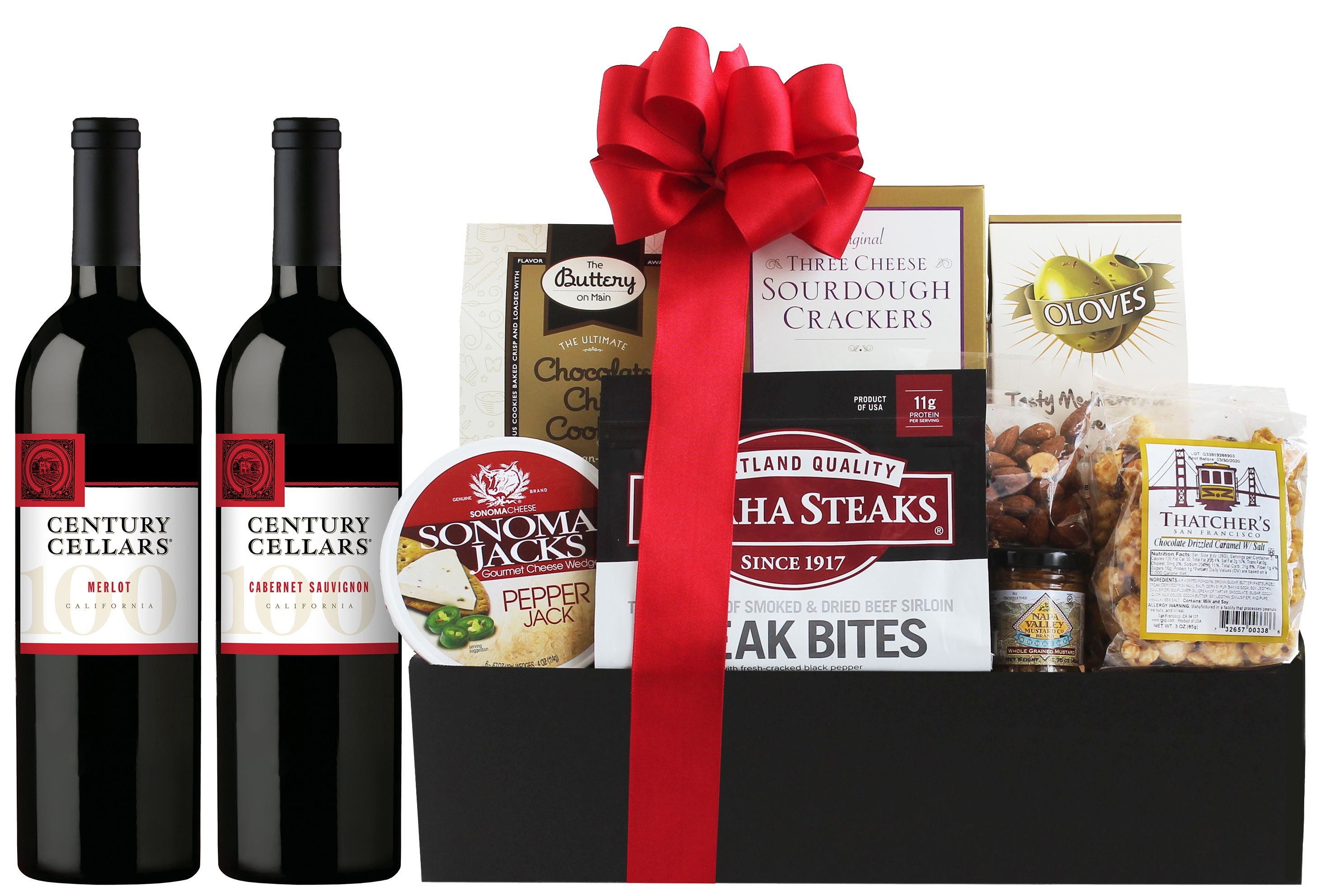 wine.com Century Cellars Red Wine Gift Basket  Gift Product Image