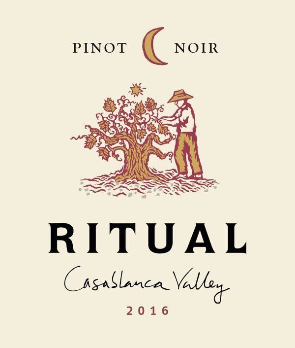 Ritual Casablanca Valley Pinot Noir 2016 Front Label