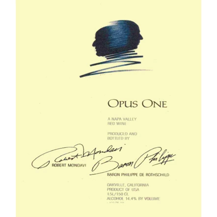 Opus One (375ML half-bottle) 2014  Front Label