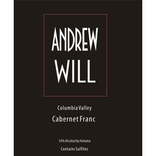 Andrew Will Winery Cabernet Franc 2017  Front Label