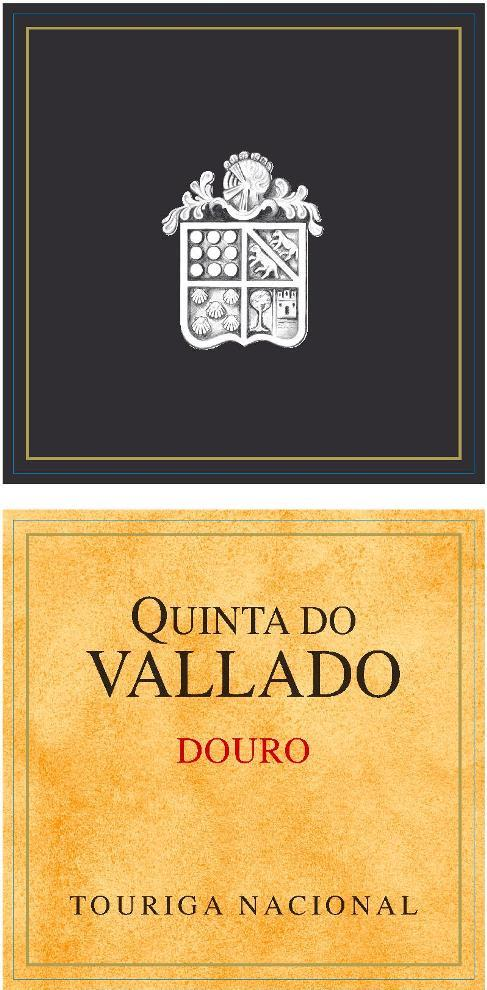 Quinta do Vallado Touriga Nacional Douro 2014  Front Label