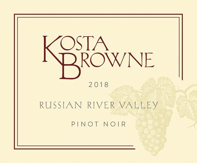 Kosta Browne Russian River Pinot Noir (1.5 Liter Magnum) 2018  Front Label