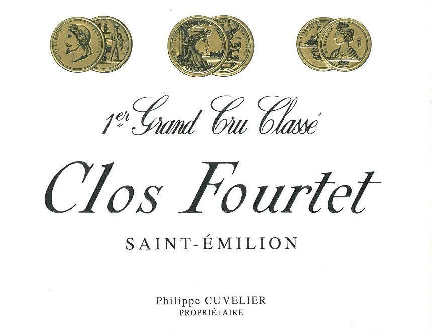 Clos Fourtet (Futures Pre-Sale) 2018  Front Label
