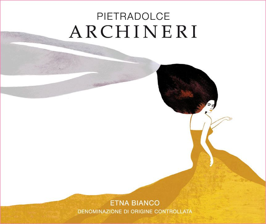 Pietradolce Archineri Etna Bianco 2019  Front Label
