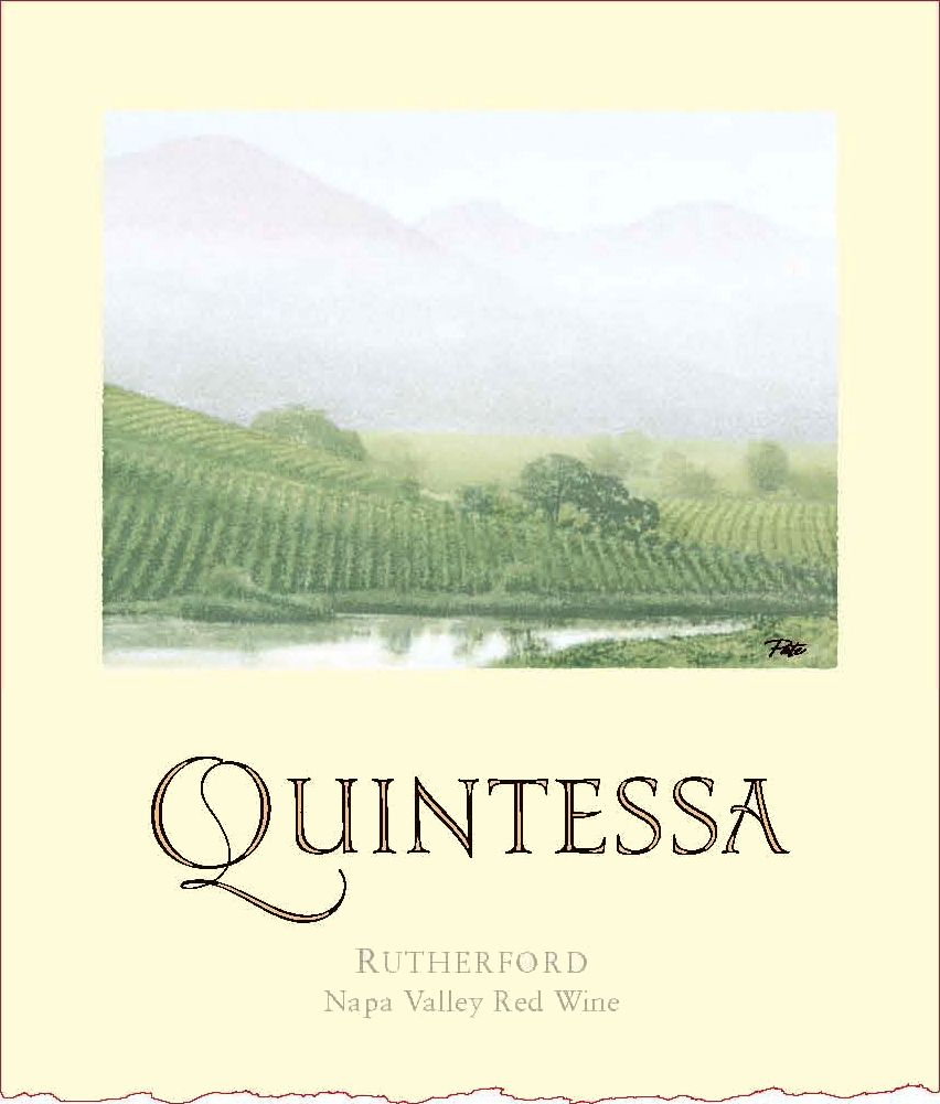 Quintessa  2016  Front Label