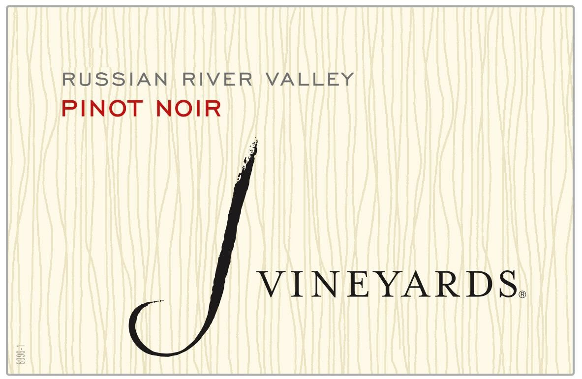 J Vineyards Russian River Pinot Noir 2017 Front Label