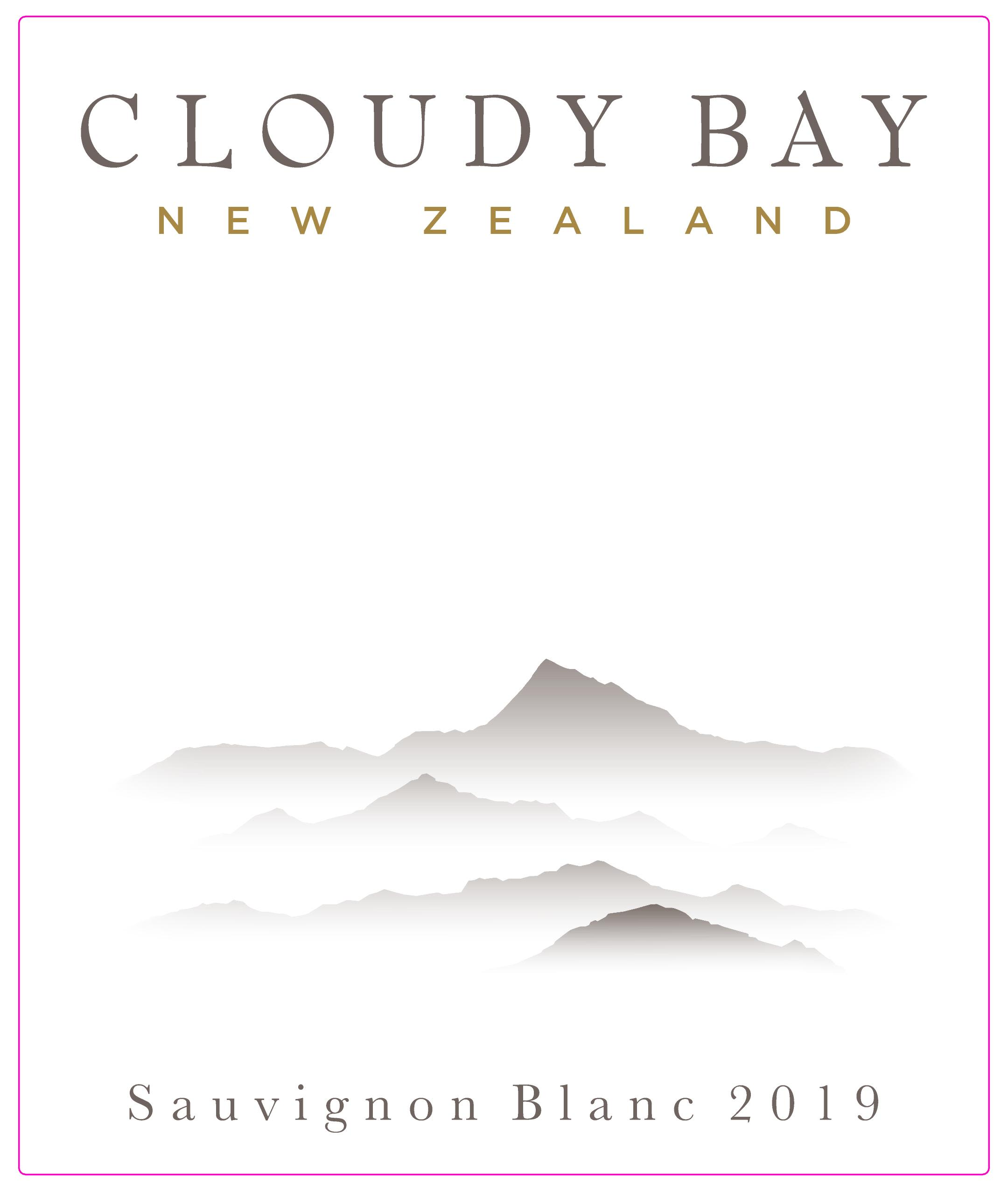 Cloudy Bay Sauvignon Blanc 2019  Front Label
