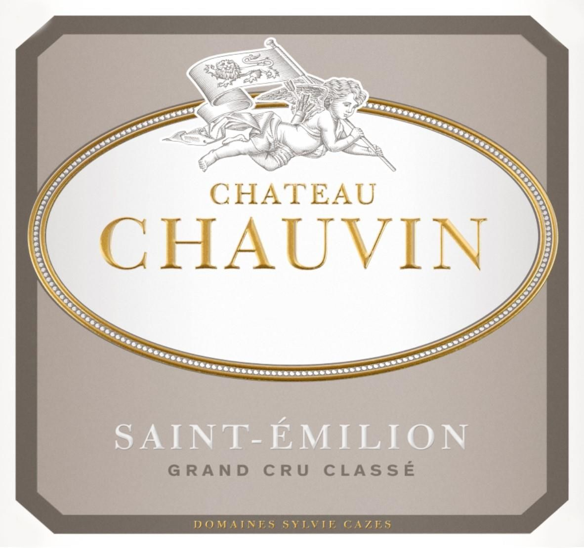 Chateau Chauvin  2015 Front Label