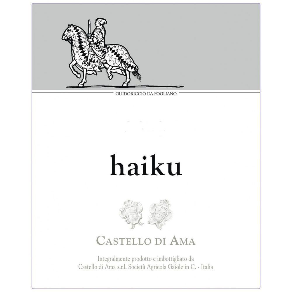Castello di Ama Haiku 2016  Front Label