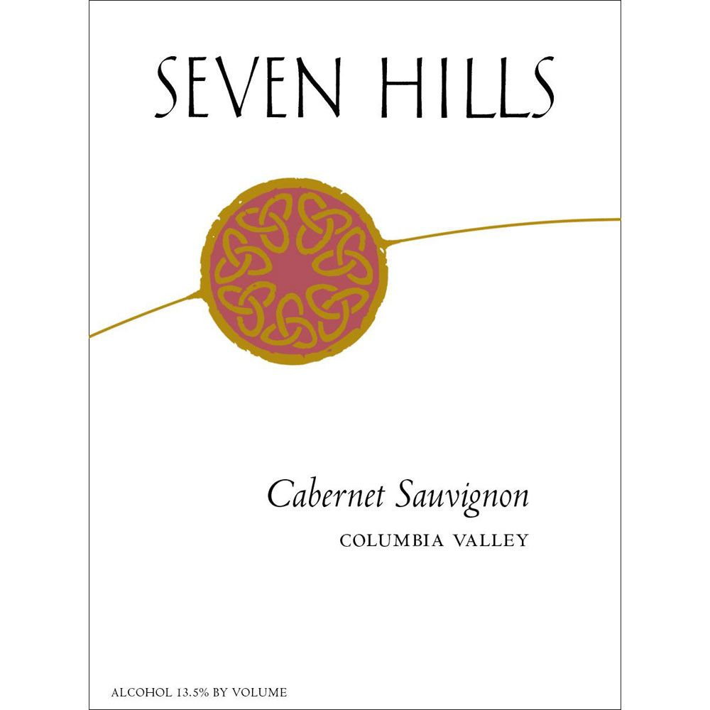 Seven Hills Winery Columbia Valley Cabernet Sauvignon 2015  Front Label