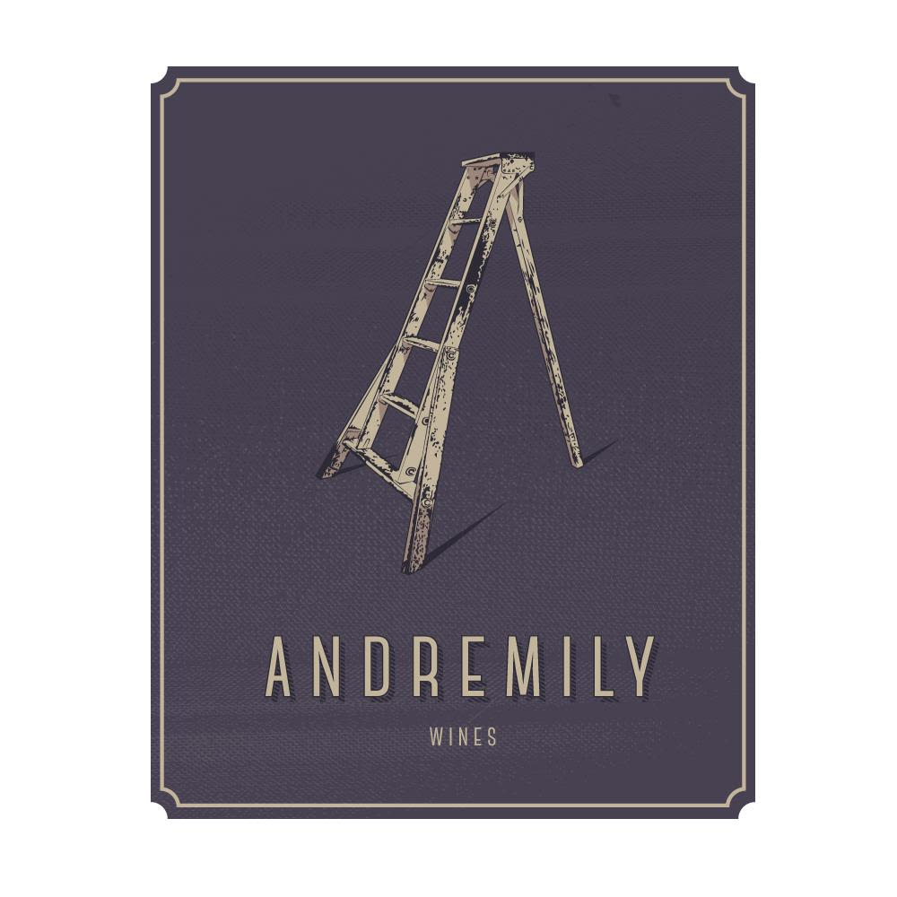 Andremily Syrah 2017  Front Label