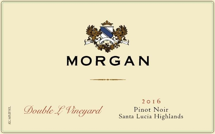 Morgan Double L Vineyard Pinot Noir 2016 Front Label