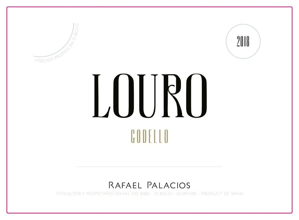 Rafael Palacios Louro Do Bolo Godello 2018  Front Label