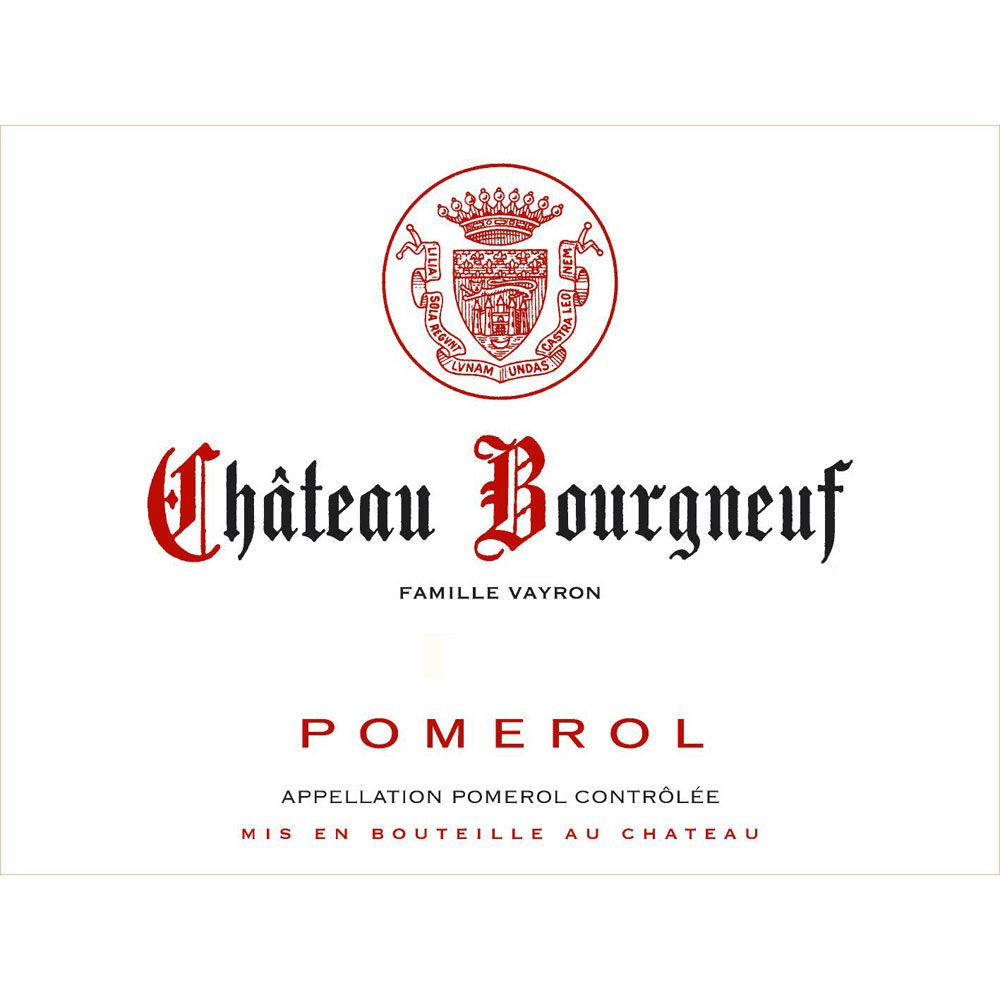 Chateau Bourgneuf (Futures Pre-Sale) 2018  Front Label