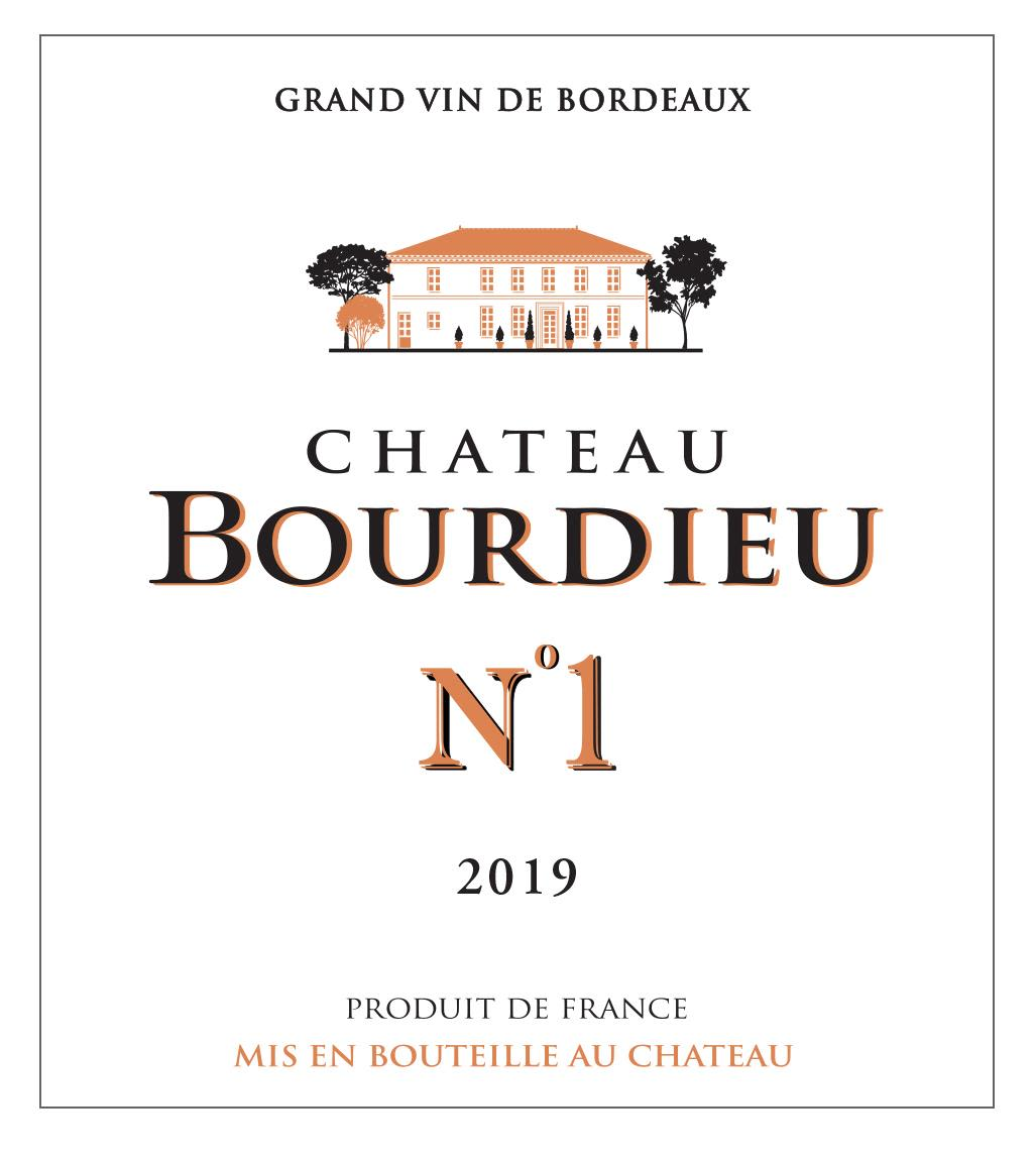 Chateau Bourdieu No.1 2019  Front Label