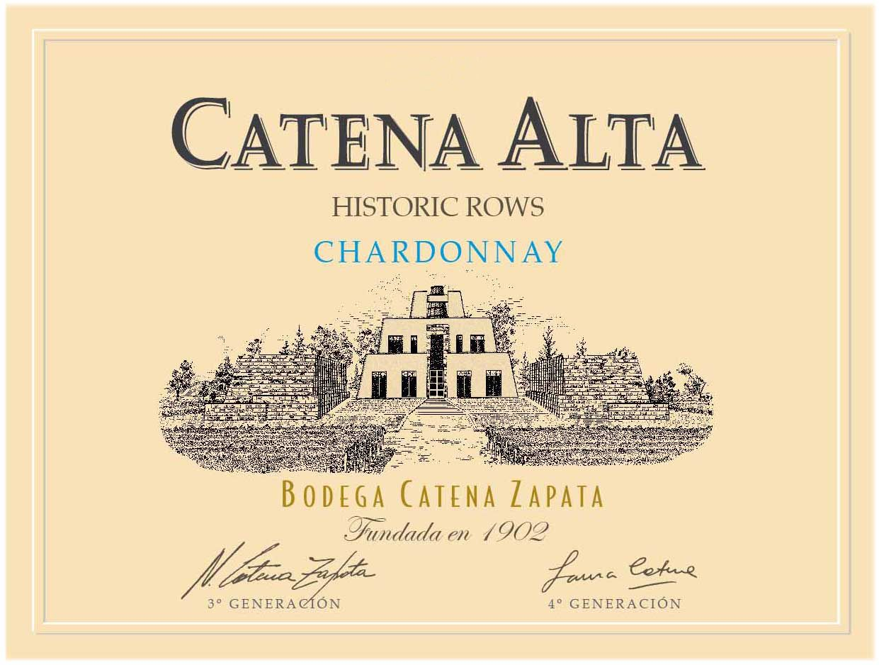 Catena Alta Chardonnay 2017  Front Label