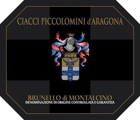 Ciacci Piccolomini d'Aragona Brunello di Montalcino (375ML half-bottle) 2014 Front Label