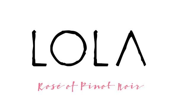 LOLA Wines Rose of Pinot Noir 2018 Front Label
