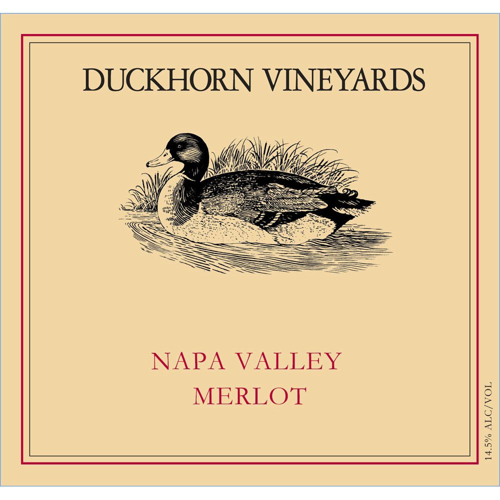 Duckhorn Napa Valley Merlot (3 Liter Bottle) 1995  Front Label