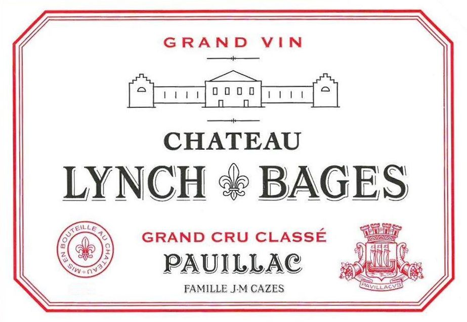 Chateau Lynch-Bages (1.5 Liter Futures Pre-Sale) 2018  Front Label