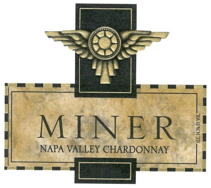 Miner Family Napa Valley Chardonnay 2018  Front Label