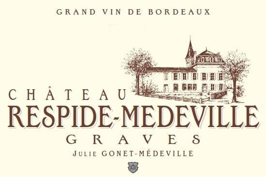 Chateau Respide Medeville Rouge 2017  Front Label