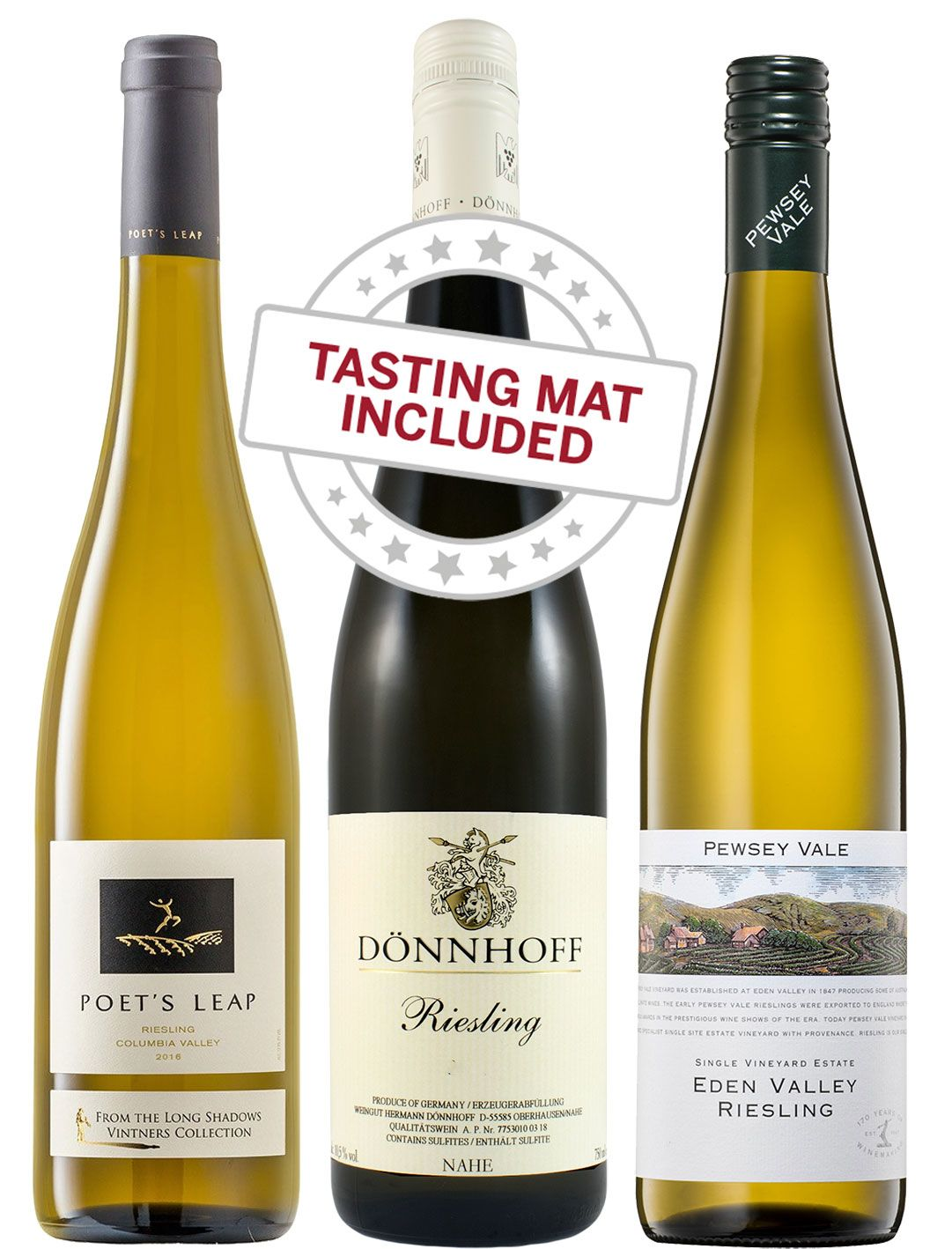 wine.com Wine Tasting Trio: Riesling   Gift Product Image