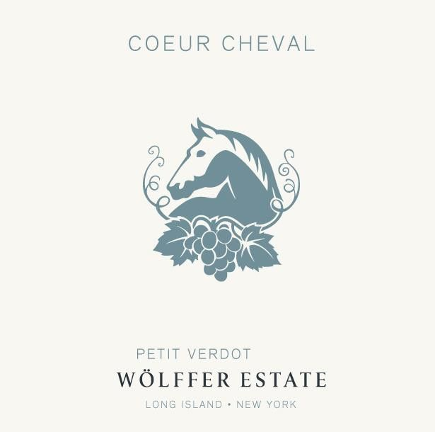 Wolffer Estate Coeur Cheval Petit Verdot 2013  Front Label