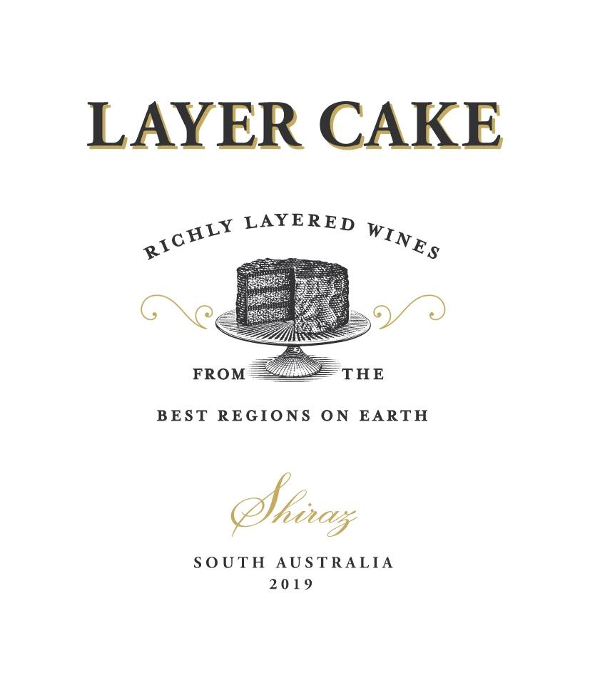 Layer Cake Shiraz 2019 Front Label