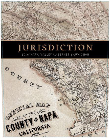 Justice Jurisdiction Cabernet Sauvignon 2018  Front Label