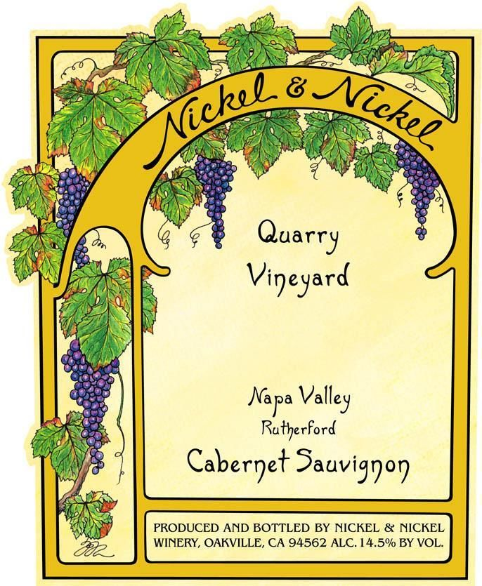 Nickel & Nickel Quarry Vineyard Cabernet Sauvignon 2017  Front Label