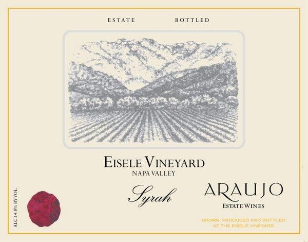 Araujo Eisele Vineyard Syrah 2005  Front Label