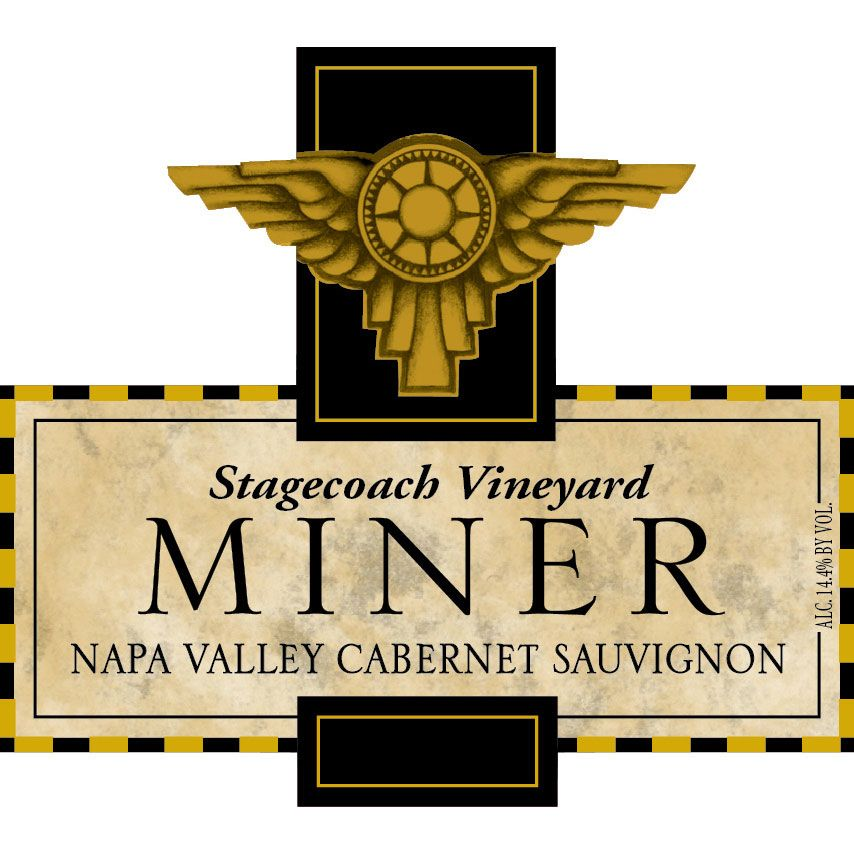 Miner Family Stagecoach Cabernet Sauvignon 2015  Front Label