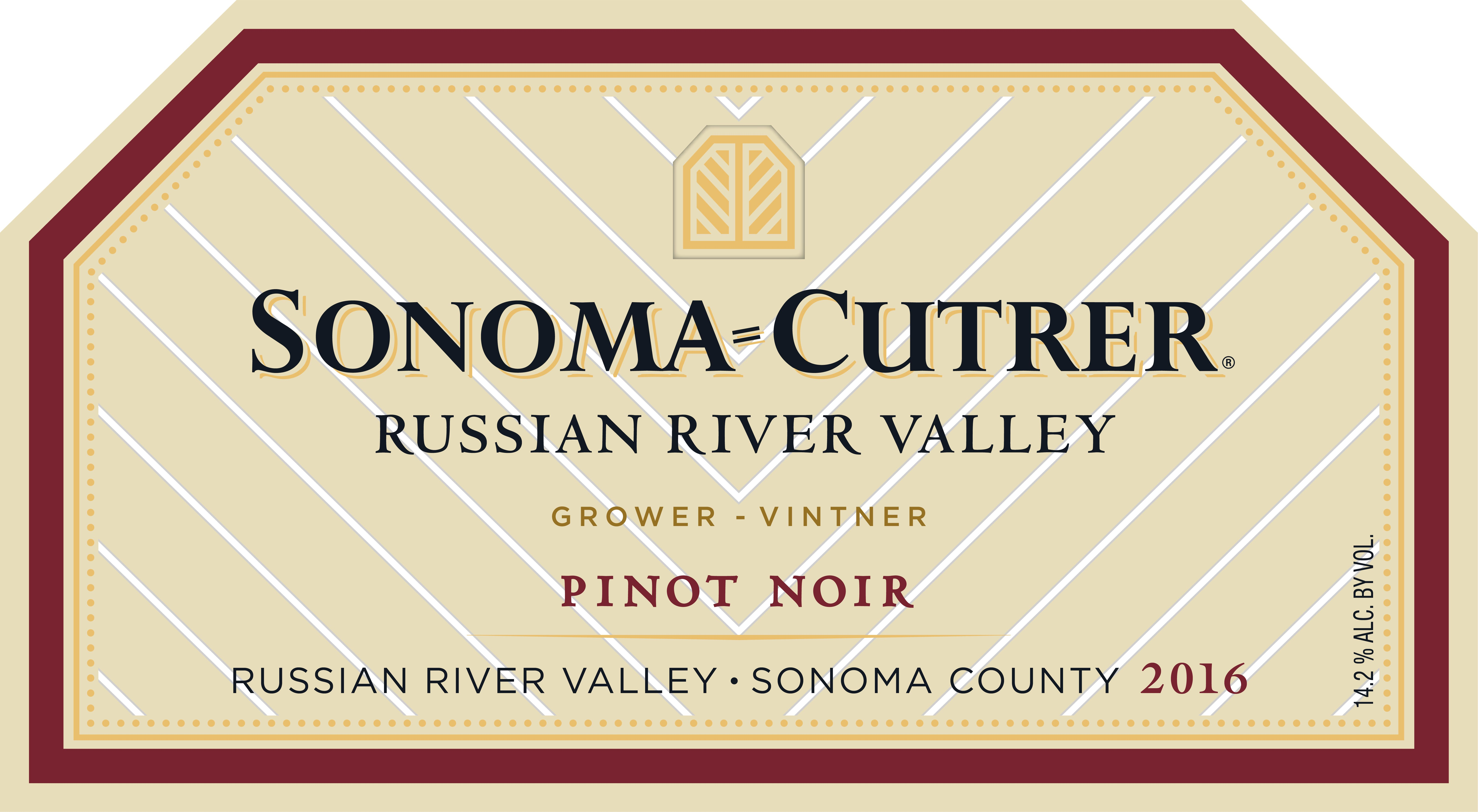 Sonoma-Cutrer Russian River Valley Pinot Noir (375ML half-bottle) 2016  Front Label