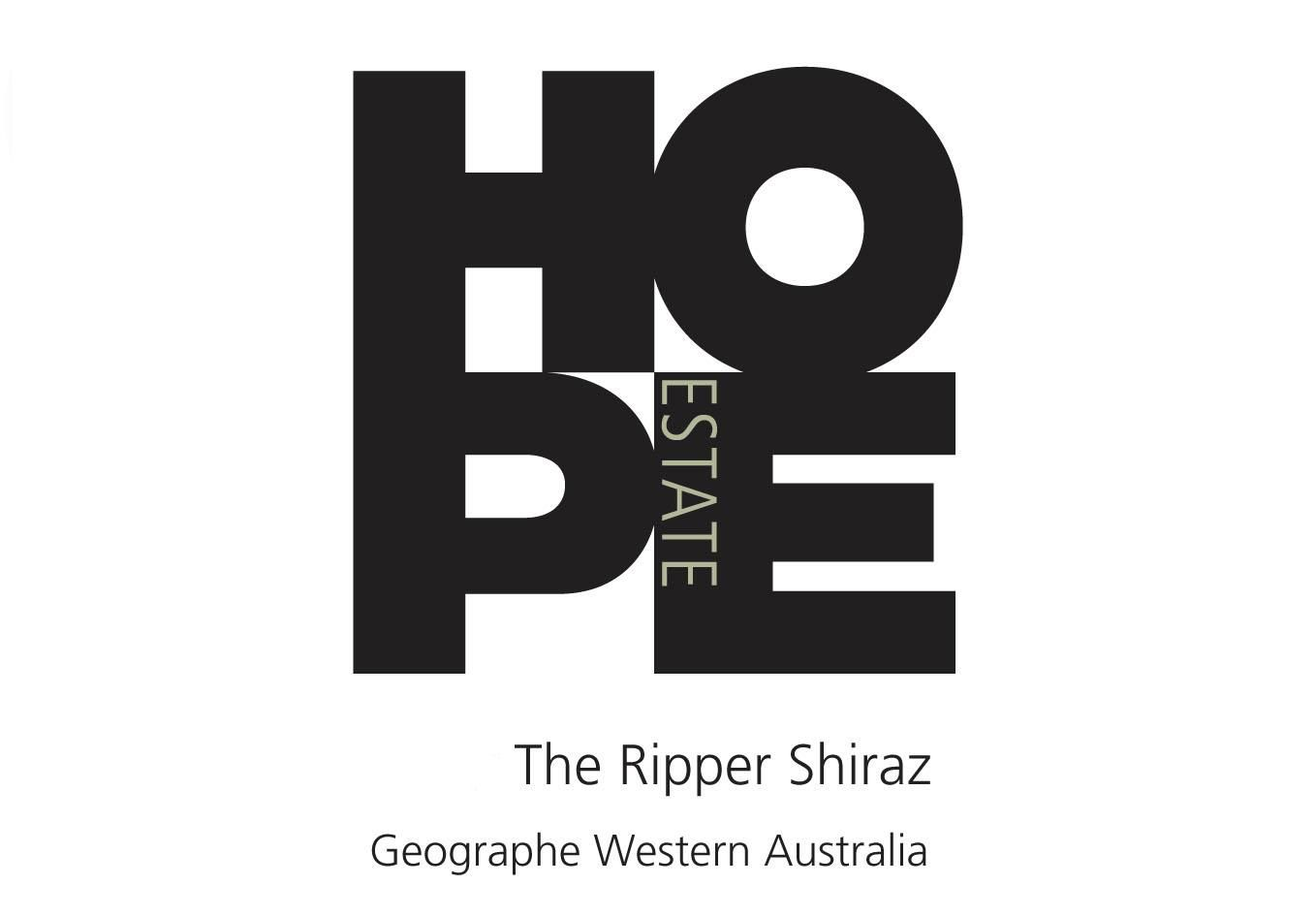 Hope The Ripper Shiraz 2015 Front Label