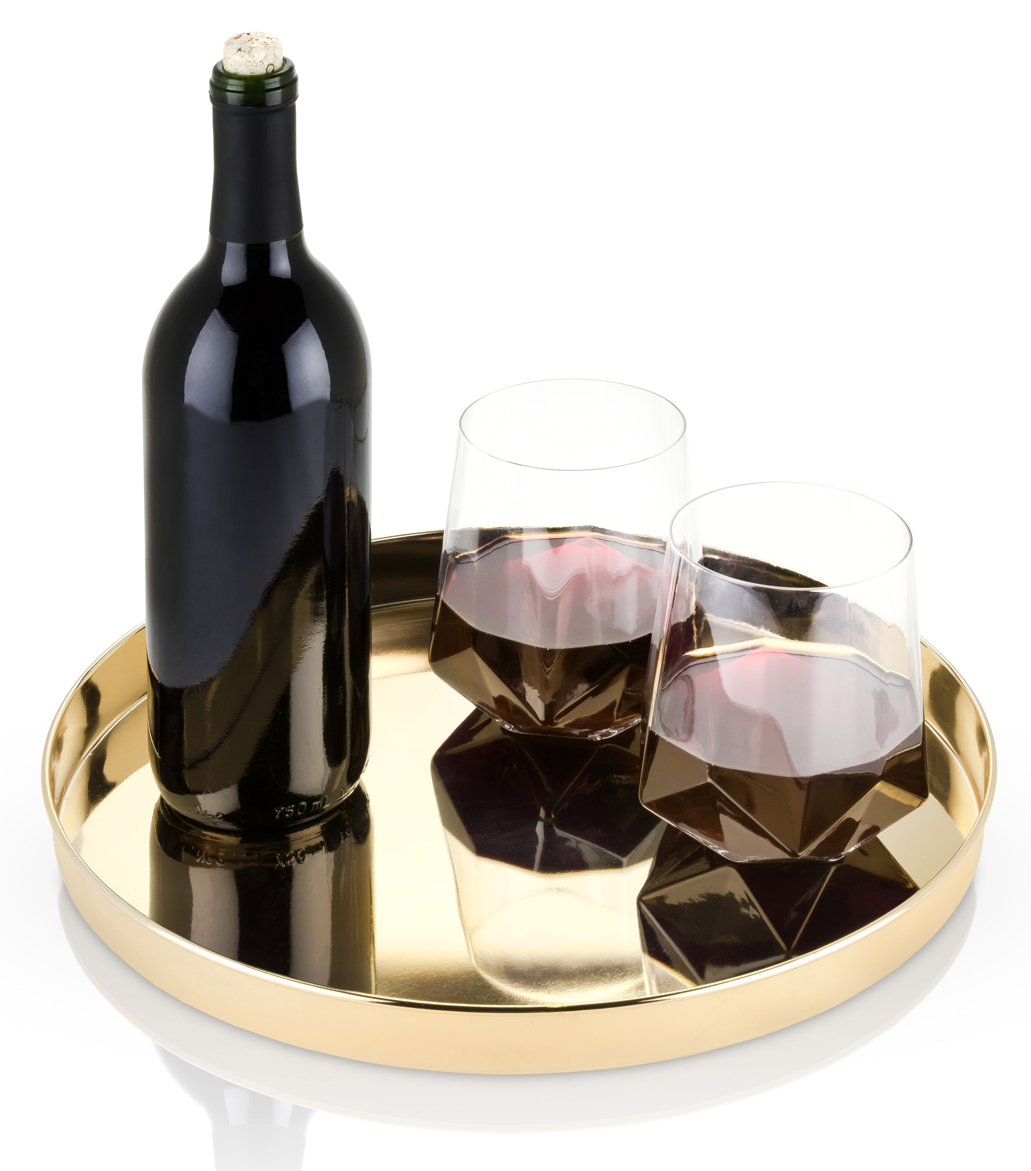 wine.com Belmont Gold Serving Tray  Gift Product Image