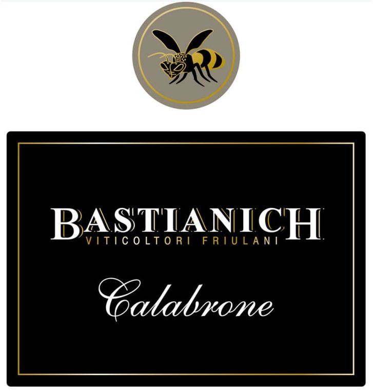 Bastianich Calabrone 2012 Front Label