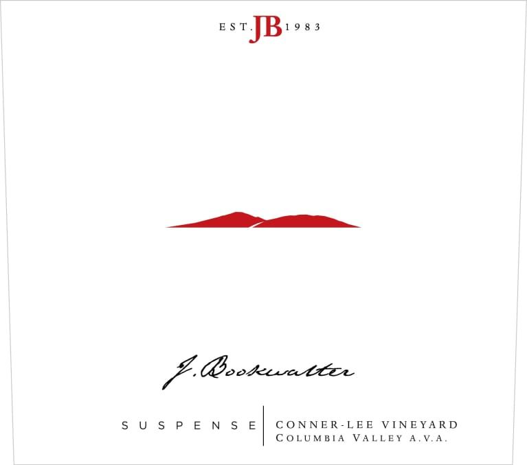 J. Bookwalter Suspense 2016 Front Label